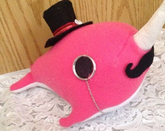 Sophisticated Narwhal Plush