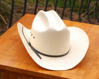 Stetson 8X Shantung Panama Straw Hat size 7                      00047