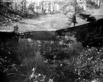 Surreal Landscape, Landscape Photography, Holga Photography, Toy Camera Photography, Fine Art Landscape, Moody Landscape, Spin