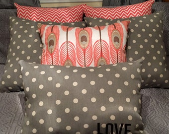 Custom made pillows/Poly-fiber filling