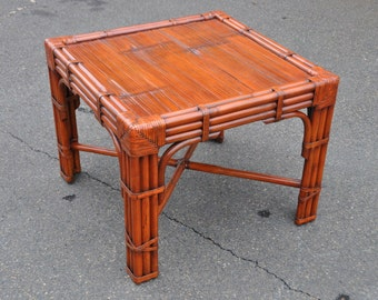 Ralph Lauren Safari End Table McGuire Style