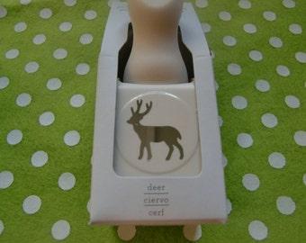 Retired Martha Stewart Deer Craft Punch -New-