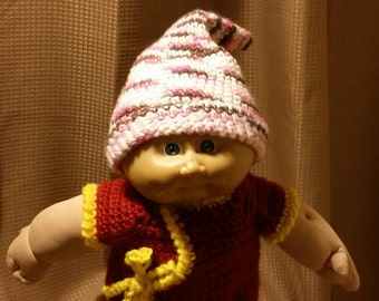 Crocheted Baby Pixie Hat