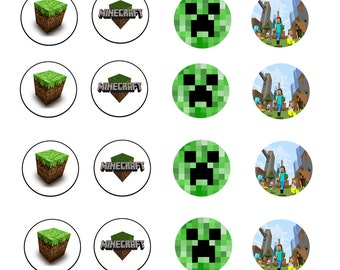 Popular items for minecraft style on Etsy