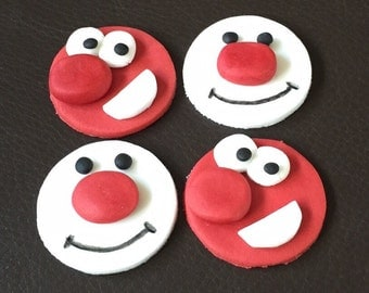 Cake Decorations For Red Nose Day : Red nose day Etsy