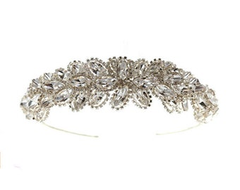 Tiara Bands,Wedding Tiaras,Bridal Headresses,Swarovski Crystal,Headdresses & Tiaras.Wedding Accessories.