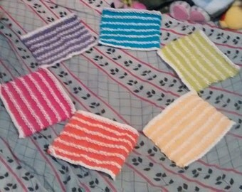 together 6 mops style towel Beach colors was