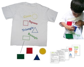 Educational T's - Shapes