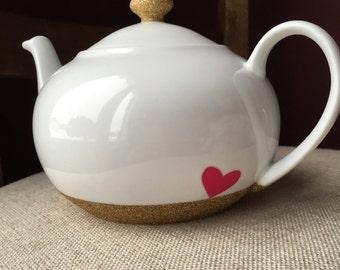 Glitter Dipped Tea Pot