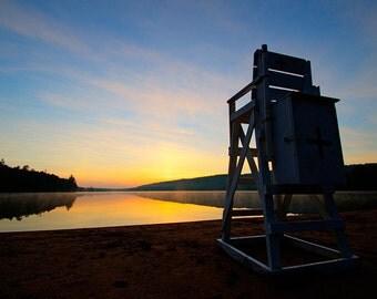 Adirondack Mountain Sunrise, Eighth Lake, Sunrise Photography, Fine Art Photo, 8th Lake Photo, Lake Photography, Inspirational, Country Life