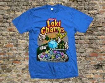Loki Charms T Shirt 100% cotton - 1062