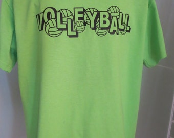 VOLLEYBALL T-shirt Adult Medium