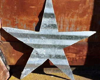 Up Cycled Metal Stars