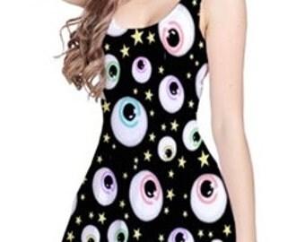 Eye Spy Sleeveless Dress