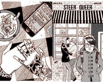 Steer Queer Zine Winter 2015 Love Theme