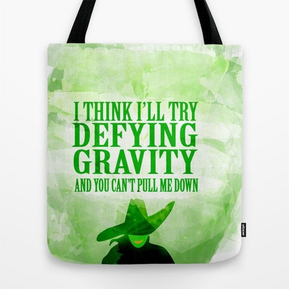 Wicked Musical Tote Bag 91