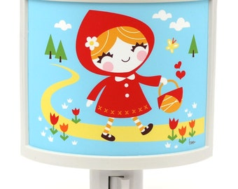 Little Red Riding Hood Cute Night Light Nursery Bathroom hallway Bedroom GET IT nightlight Nite Lite
