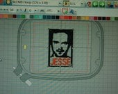 Breaking Bad Jesse Machine Embroidery File Download
