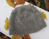 Gansey Chore Time Bobble Hat Pattern and Wool Yarn