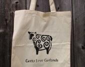 Gotta Love Gotland Cotton Tote from VT Grand View Farm