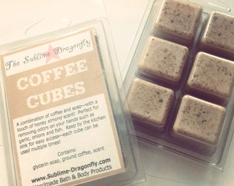 Coffee Soap Cubes
