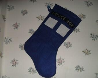 Doctor Who TARDIS Stocking