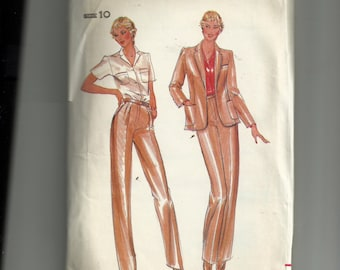 Butterick Misses'  Jacket and Pants  Pattern 3633