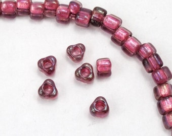 5/0 Strawberry AB Miyuki Triangle Seed Bead (20 gram) #TC1833