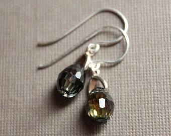 Lia Earrings - Swarovski & Sterling Silver