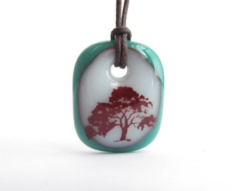Old Tree Necklace - Nature Jewelry