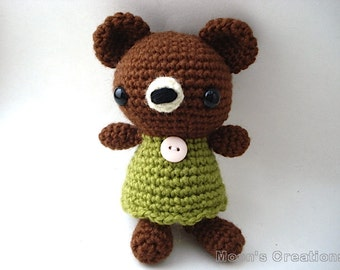 Susanna - Pretty Bear Amigurumi Doll