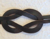 Infinity Knot Bracelet Dark Brown