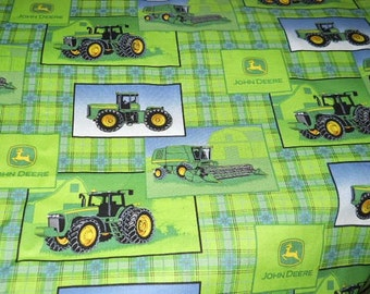 MadieBs John Deere Bumper Pads with Matching Crib Sheet