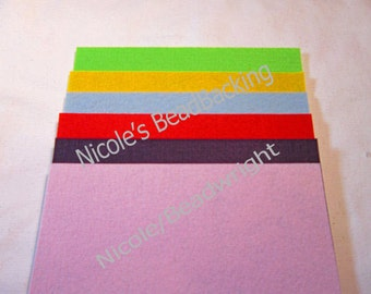 Red Sale  BeadBacking Nicole's BeadBacking NBB 12x9 pack of 6 Bead Embroidery Soutchae Beading NBB