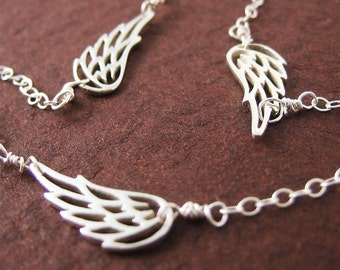 Lovely Angel Wing Bracelet Bridesmaid Gift Modern Jewelry Valentine Day Holiday Gift for Her