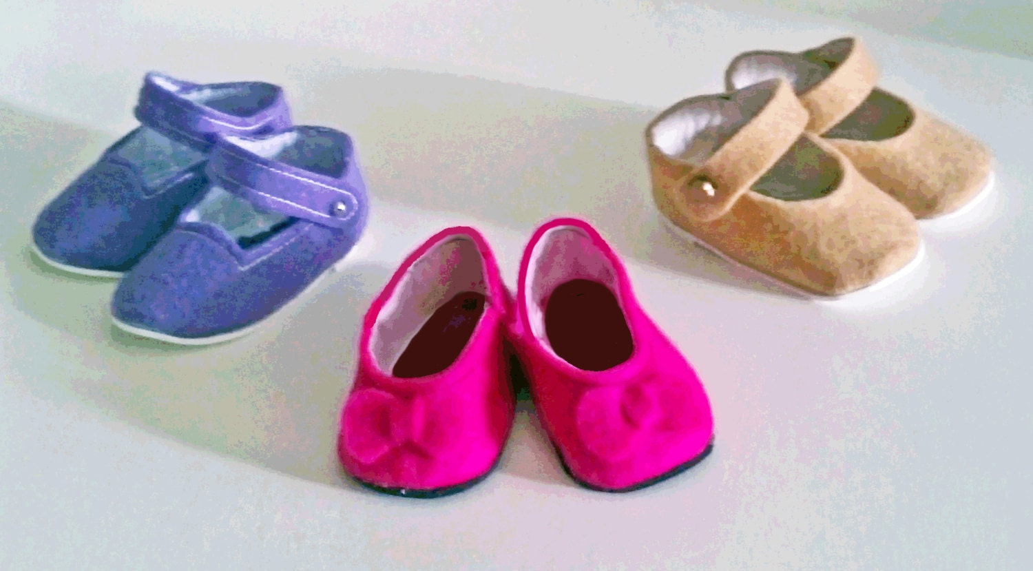 How To Make Felt Shoes For American Girl Doll