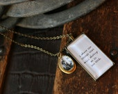 Sylvia Plath Necklace. I desire the things that will destroy me in the end.
