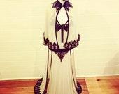 Burlesque costume vintage Follies inspired
