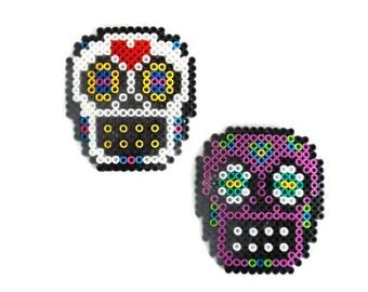 Sugar Skull Dia de los Muertos Calavera Magnet Day fo the Dead Sugar Skull