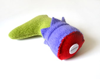 Incredible Hulk / Severed Leg Catnip Toy / Handmade Cat Toy / Super Heroes / Handmade Catnip Toy