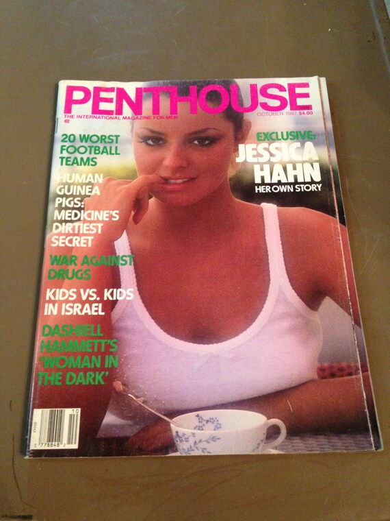 Vintage Penthouse Magazine October 1987 Jessica Hahn