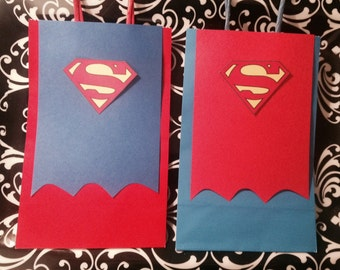 Made to Order - Inspired SUPERMAN Gift Bags