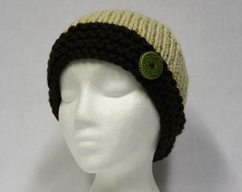 Cozy Cables Child Hat knitting PATTERN cute stocking by ...