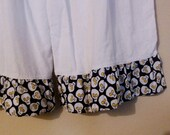 White Bloomers with Skulls