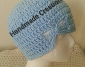 Pastel blue beanie