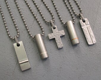 Men's Cross Necklace Pendant
