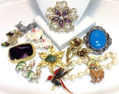 Vintage Jewelry Destash Lot Wear Craft