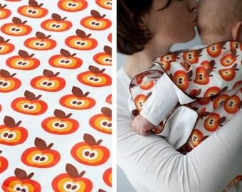 baby blanket - blankie - FUNKY APPLES