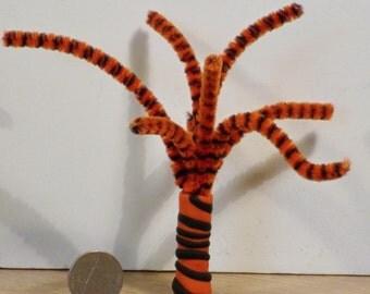 Miniature Wacky tree - black & orange
