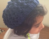 Slouchy knit beanie - you...
